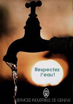 Bouvier Publicité - Respectez l'eau!