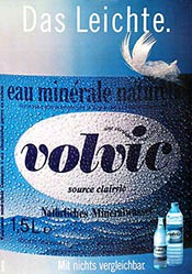 Bilateral Publicité - Volvic Mineralwasser