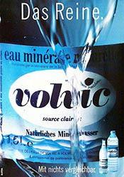 Bilatéral Publicité - Volvic Mineralwasser