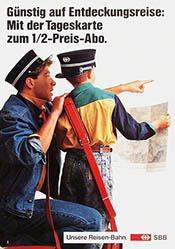 GGK Werbeagentur - SBB - Tageskarte