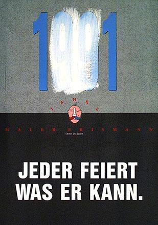 Anonym - 100 Jahre Maler Erismann