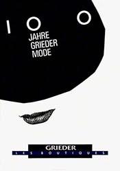 Jeker Werner - 100 Jahre Grieder Mode