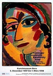 Anonym - Feininger / Jawlensky / Kandinsky / Klee