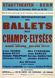 Anonym - Ballets des Champs-Elysées