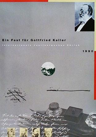 Bosshard Markus - Ein Fest für Gottfried Keller
