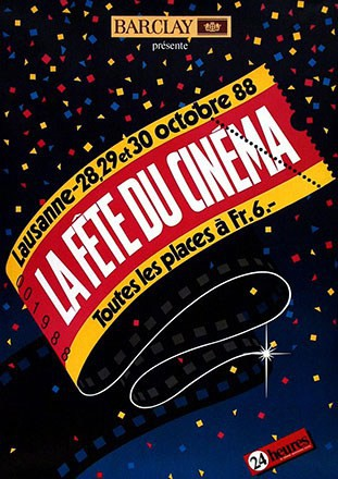 Anonym - La Fête du Cinema