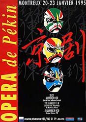 B-G Montreux - Opera de Pékin
