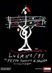 Leupin Herbert - Festa federale di musica