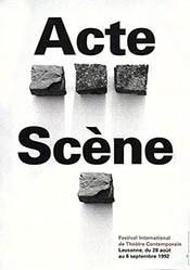 Trio Publicité - Acte - Scène