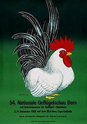 Wenk Wilhelm - 54. Nationale Geflügelschau Bern
