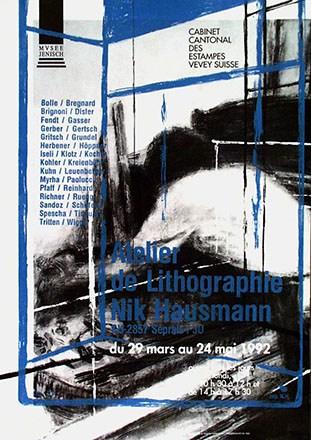 Fendt René - Atelier de Lithographie Nik Hausmann