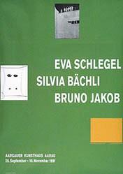 Hoffmann Anne - Eva Schlegel / Silvia Bächli / Bruno Jakob