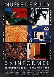 Anonym - 6 x Informel