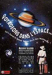 Berthoud Graphisme - Voyageons dans l'Espace