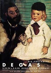 Waldvogel Heinz C. + Christa - Die Portraits Degas