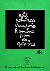 Jeker Werner / Vautier - Nuit peintres Vaudois ..