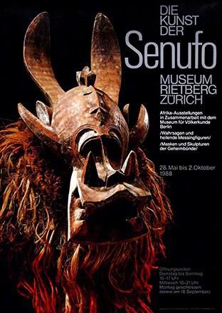 Zryd Werner - Die Kunst der Senufo