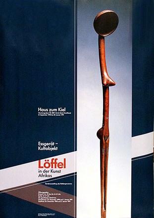 Müller Fridolin - Löffel in der Kunst Afrikas