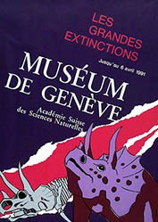Gassener A. - Les grandes Extinctions