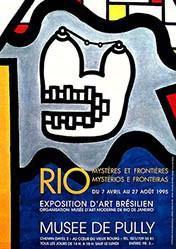 da Matta Flavia - Rio - Exposition d'Art Brésilien