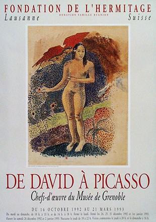 Anonym - de David à Picasso