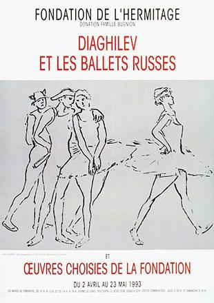Anonym - Diaghilev et les ballets russes