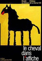 Graz Roland - Le cheval dans l'affiche