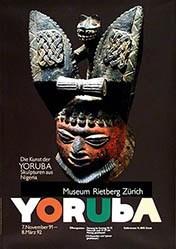 Zryd Werner - Die Kunst der Yoruba Skulpturen