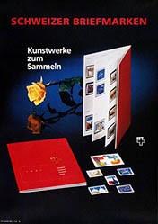 Anonym - Schweizer Briefmarken