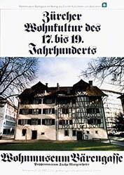 Anonym - Zürcher Wohnkultur des 17. bis 19. Jahrhunderts