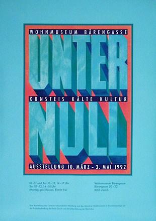 Preiss Gerhard - Unter Null