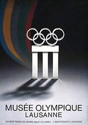 Moser J.-P. - Musée Olympique Lausanne