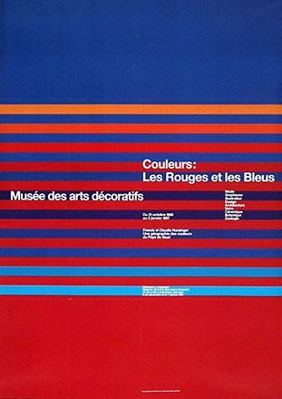Jeker Werner / Loup Philippe - Couleurs: Les rouges et les bleues
