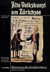 Anonym - Alte Volkskunst am Zürichsee