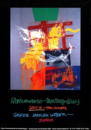 Mühlemann Rudolf - Rauschenberg Paintings