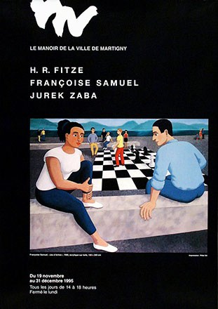 Anonym - H.R. Fitze, Françoise Samuel, Jurek Zaba