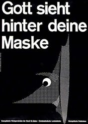 Woodtli Hans Rudolf - Gott sieht hinter deine Maske