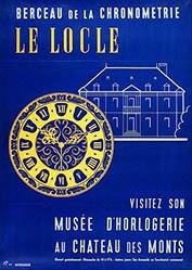 Monogramm F.J - Berceau de la Chronometrie Le Locle