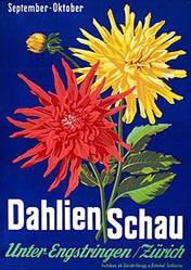Monogramm K. - Dahlien Schau