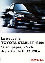Wirz Adolf Werbeagentur - Toyota Starlet 1300