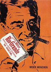 Farner Rudolf Reklame - Weber Rio Grande