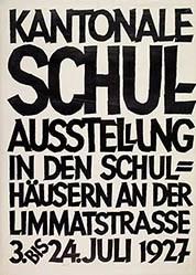 Keller Ernst - Kantonale Schul-Ausstellung