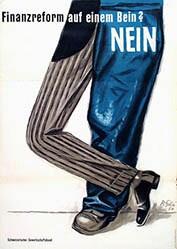 Gilsi René - Finanzreform auf einem Bein? Nein