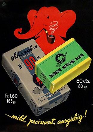 Ebner Emil - Schürch's Tabake