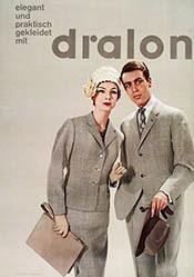 Grüninger Reklame - Dralon