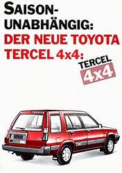 Wirz Adolf Werbeagentur - Toyota Tercel