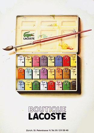 Anonym - Boutique Lacoste