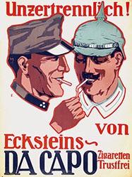 Monogramm L.E. - Da Capo Zigaretten