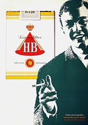 Anonym - HB Cigaretten