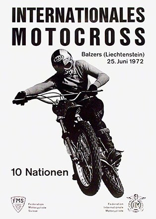 Anonym - Internationales Motocross Balzers